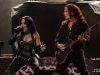 Alissa White-Gluz and Thomas Youngblood of Kamelot