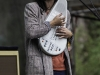 Sharon Van Etten with her omnichord