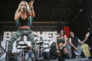 Heidi Shepherd & Carla Harvey of Butcher Babies