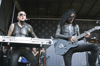 Joshua Balz and Ryan Sitkowski of Motionless in White