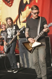 Brann Dailor, Troy Sanders & Bill Kelliher of Mastodon
