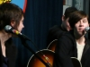 Tegan and Sara share a moment