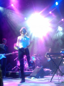 The sun shines for Jarvis Cocker and his magical air guitar