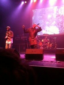 Corey Glover is dressed like a serial killer because he murdered it.