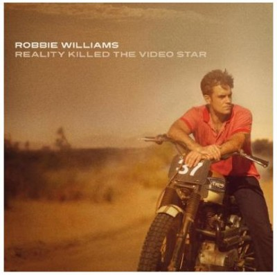 Robbie Williams proving once again he is as bad-ass as you can be on a pop record.