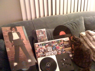 All the cats are groovin' to DJ Hero