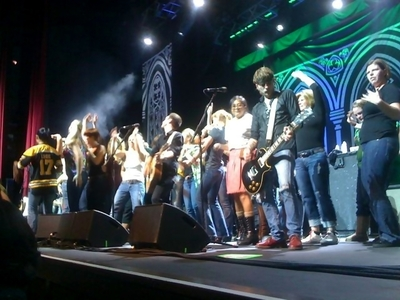 Dropkick Murphys and the girls of Oakland, CA