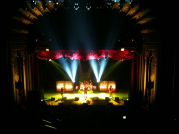 Alice In Chains from the balcony of the Fox Theater