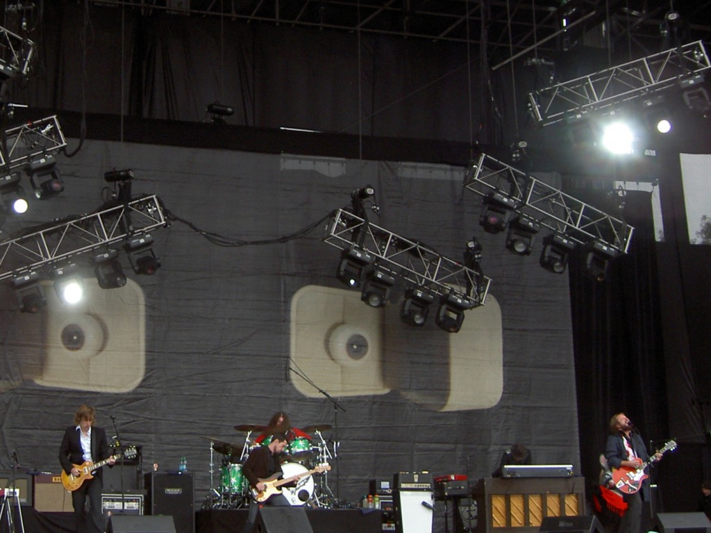 My Morning Jacket (from a distant view of the Land's End stage)