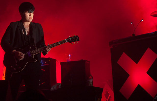 Romy Madley Croft, guitarist and singer of The xx (photo by Carla Deasy)