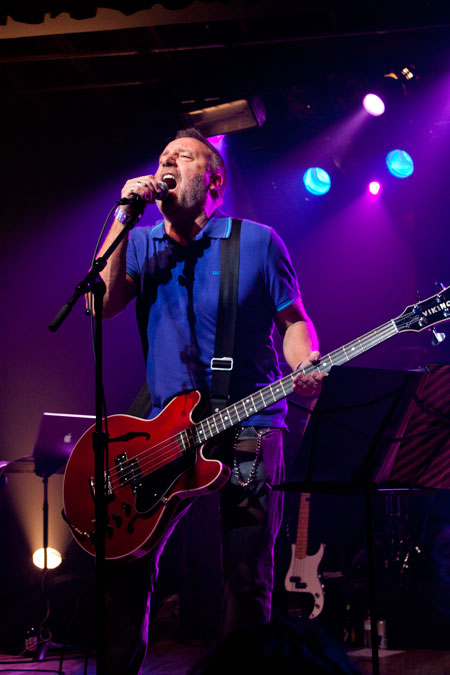 Peter Hook of Joy Division/New Order