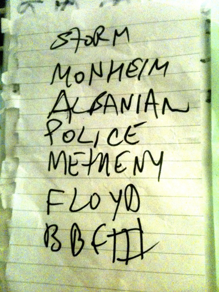 GY!BE's setlist from The Warfield