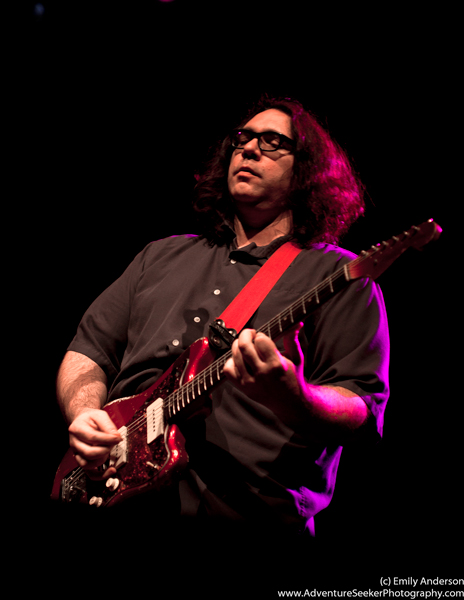 James McNew of Yo La Tengo kicks off the Dump set