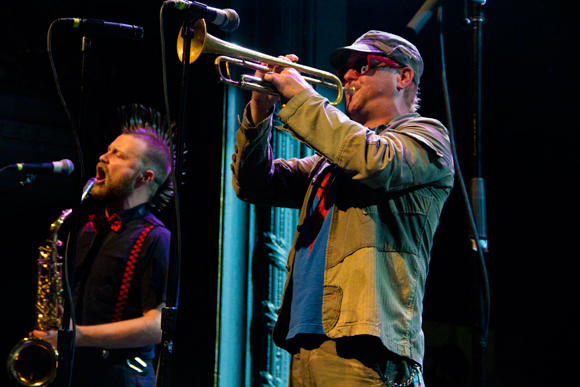 Matt Appleton and John Christianson of Reel Big Fish