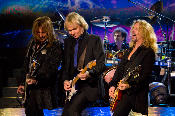 Ricky Phillips, James Young, Todd Sucherman and Tommy Shaw of Styx