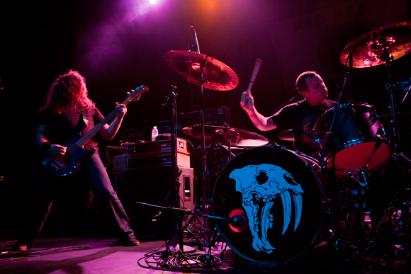 Aaron Beam and John Sherman of Red Fang