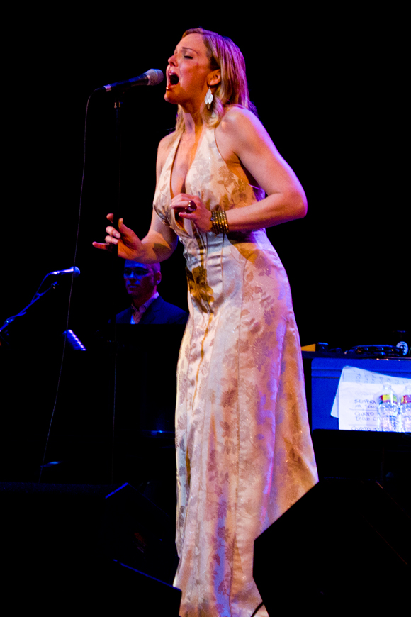 Storm Large lends her stunning voice to the ensemble