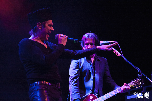 Peter Murphy and guitarist Mark Gemini Thwaite