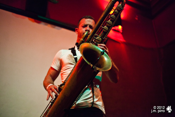Colin Stetson, master of the bass saxophone