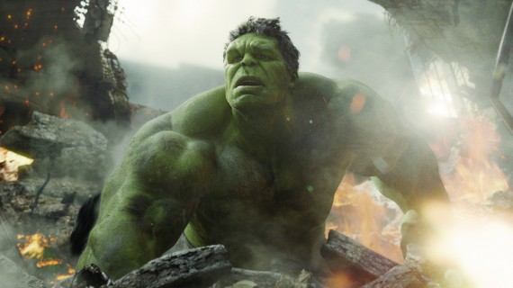 Hulk smashes in Marvel's The Avengers