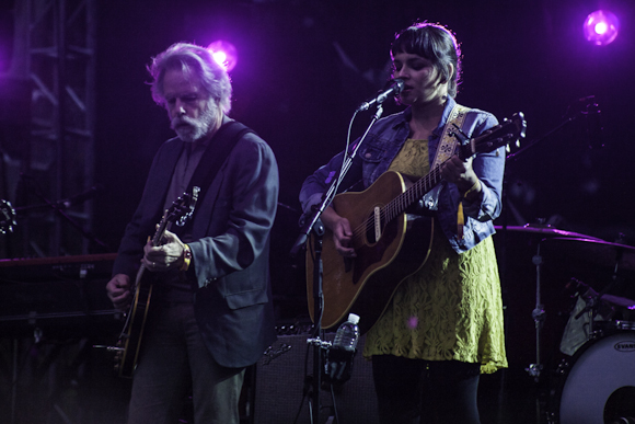 Bob Weir of The Grateful Dead joins Norah Jones (photo by Dakin Hardwick)