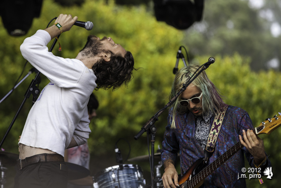 J. Tillman and Jeffertiti Ramuno of Father John Misty