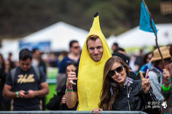 The one banana that didn't come in a burrito this weekend
