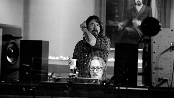 Dave Grohl, director of the new documentary Sound City.