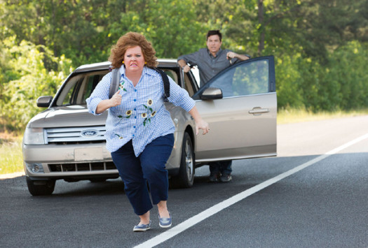 Melissa McCarthy and Jason Bateman in IDENTITY THIEF