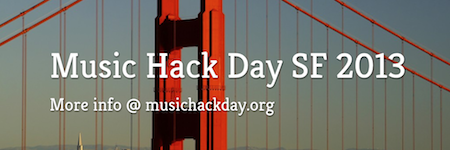 This was the 4th time Music Hack Day visited San Francisco.