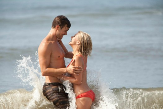 Josh Duhamel and Julianne Hough frolic in SAFE HAVEN