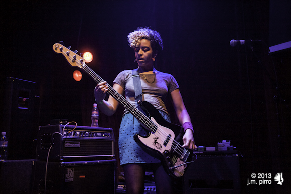 Founding member, bassist and all around badass Kathy Foster