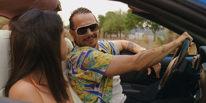 James Franco as Alien in Harmony Korine's Spring Breakers