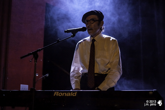 Ron Mael of Sparks