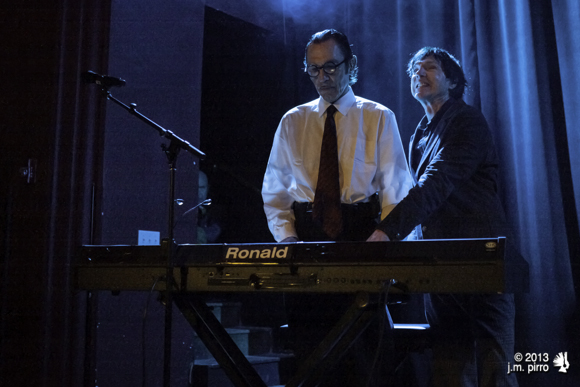 Ron and Russel Mael of Sparks