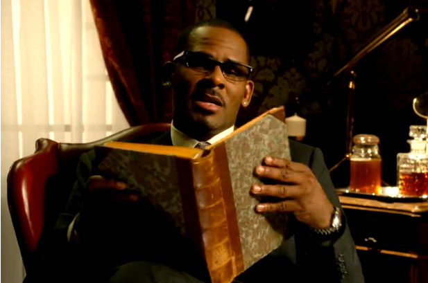 R. Kelly is a literary man.