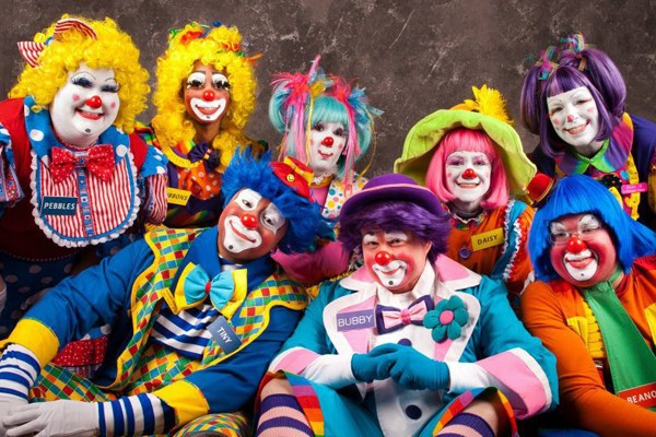 All clowns are insane. Therefore, wouldn't any group of clowns be an Insane Clown Posse?