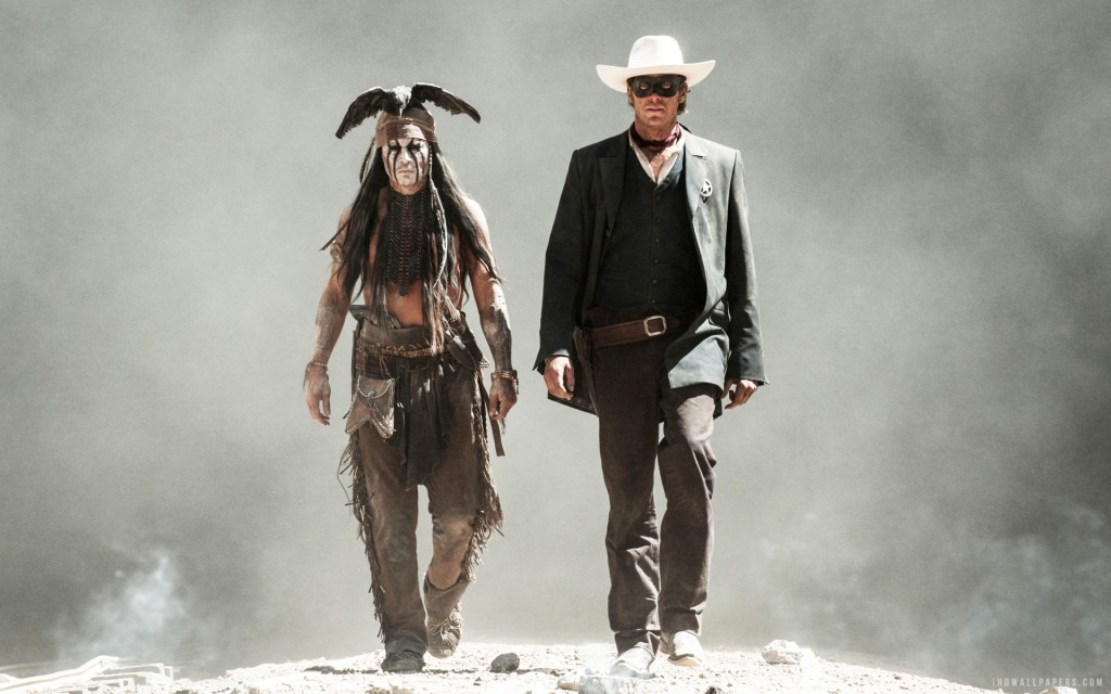 Johnny Depp and Armie Hammer strut their hero stuff in The Lone Ranger