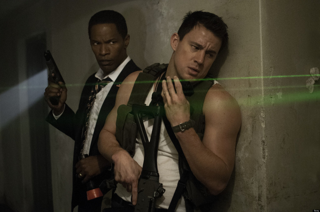 Jamie Foxx is Mr. President and Channing Tatum is Mr. Hero in White House Down