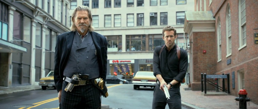 Jeff Bridges and Ryan Reynolds are ready for all terrible CGI creatures coming their way.