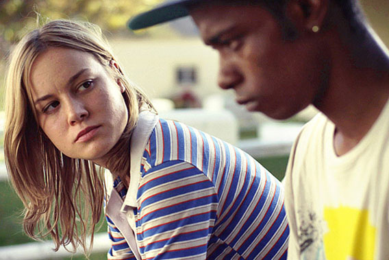 Brie Larson's Grace lends a sympathetic ear to Keith Stanfield's Marcus in Short Term 12.