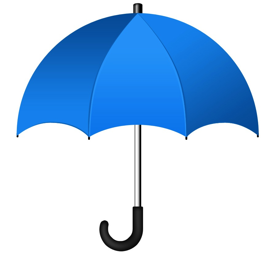 blue-umbrella-icon
