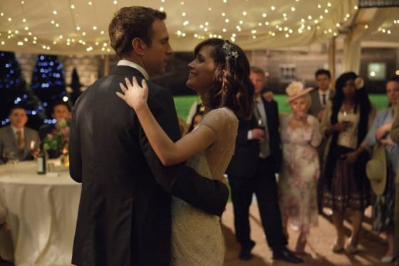 Josh (Rafe Spall) and Nat (Rose Byrne) optimistically share a dance at their wedding.