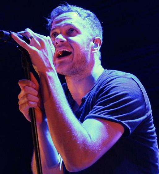 Up close with Imagine Dragons: frontman Dan Reynolds.