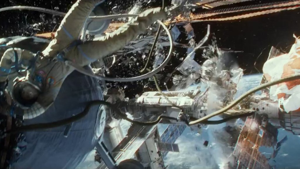 In Gravity, things get super cray cray!