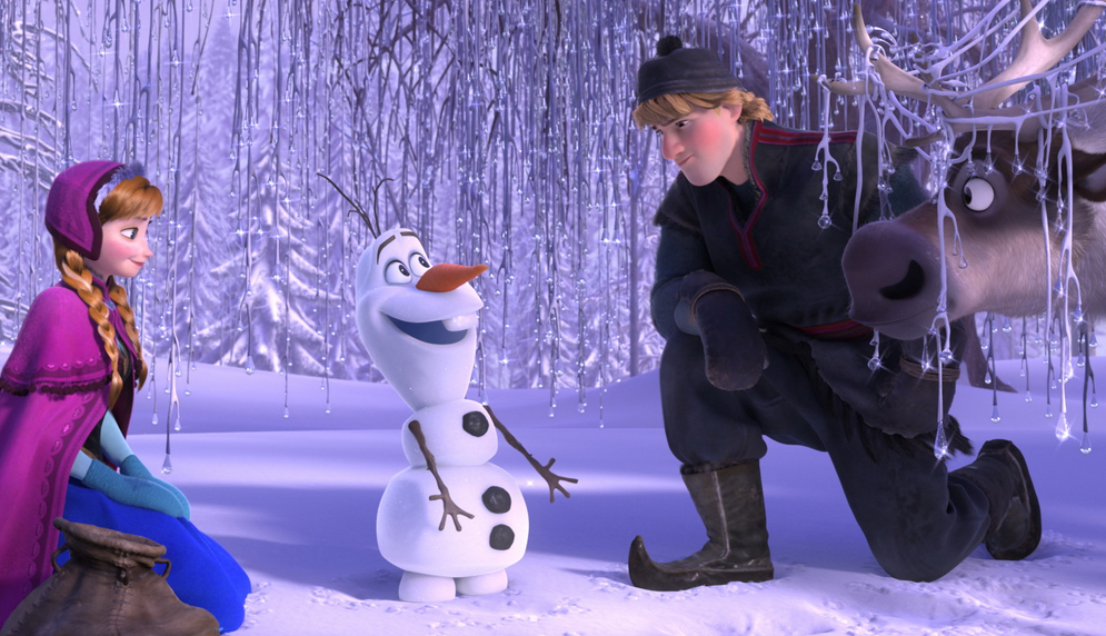 "Characters chill in Disney's ""Frozen"""