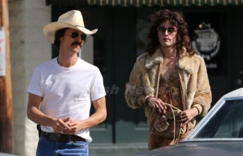 Matthew McConaughey's Ron and Jared Leto's Rayon join forces - and become friends - in Dallas Buyers Club.