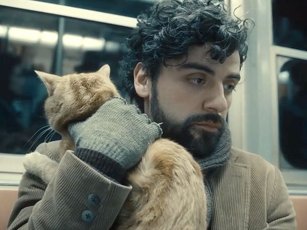Oscar Isaac cradling the real star.