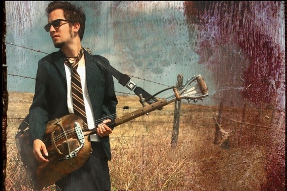 This guy is playing this instrument at Brick & Mortar on Wednesday.