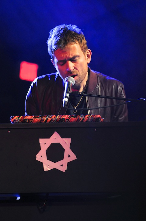 Damon Albarn at Stubb's SXSW